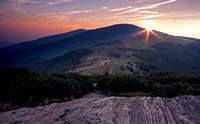 Sunset in the Roan Highlands